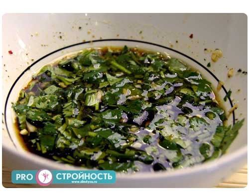 заправка для тайского салата