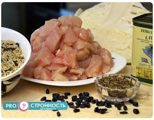 продукты для фото рецепта
