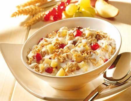 здоровое питание и завтрак