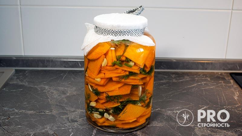 процесс ферментации тыквы