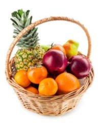 Оригинальные фруктовые подарки