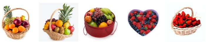 фруктовые корзины на подарок