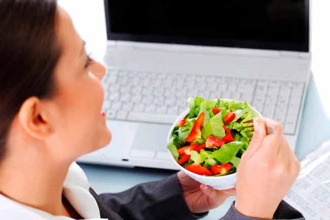 Правильная еда в офисе