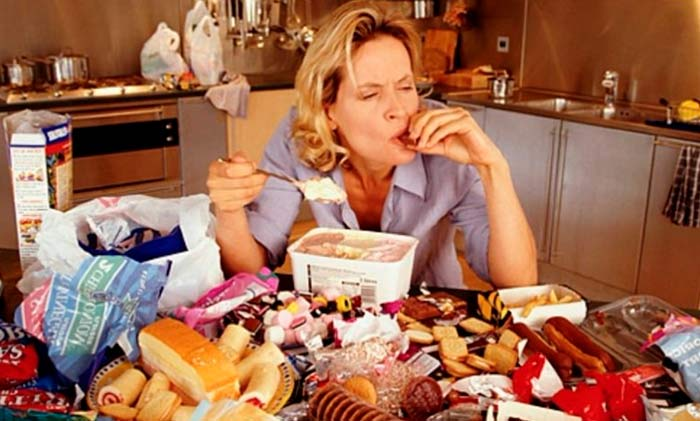 как справиться с перееданием на нервной почве