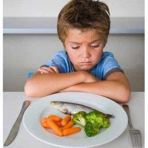 дети не любят овощи